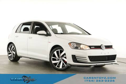 2016 Volkswagen Golf GTI for sale at JumboAutoGroup.com - Carsntoyz.com in Hollywood FL