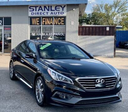 2015 Hyundai Sonata for sale at Stanley Direct Auto in Mesquite TX