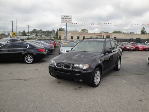 2006 BMW X3 for sale at A&S 1 Imports LLC in Cincinnati OH