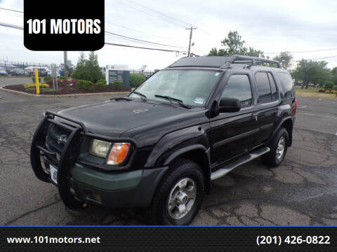 2000 Nissan Xterra for sale at 101 MOTORS in Hasbrouck Heights NJ