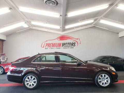 2013 Mercedes-Benz E-Class for sale at Premium Motors in Villa Park IL