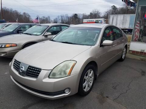 2004 Nissan Maxima for sale at Wheel'n & Deal'n in Lenoir NC