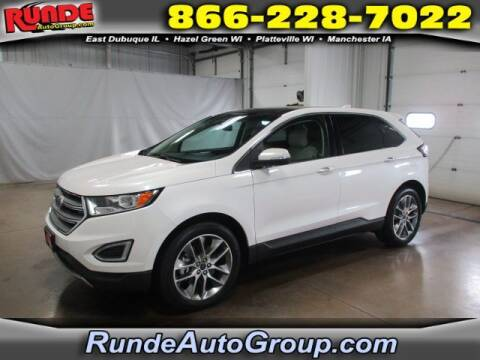 2016 Ford Edge for sale at Runde Chevrolet in East Dubuque IL