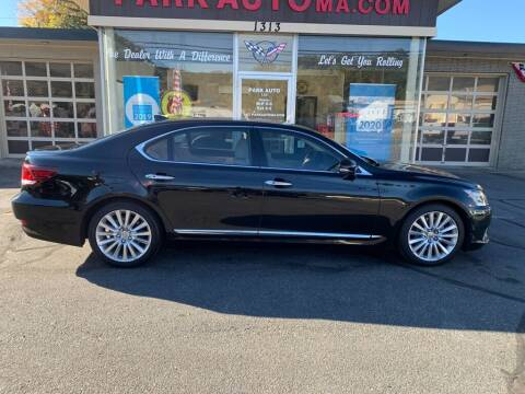 2016 Lexus LS 460 for sale at Park Auto LLC in Palmer MA