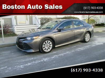 2018 Toyota Camry for sale at Boston Auto Sales in Brighton MA