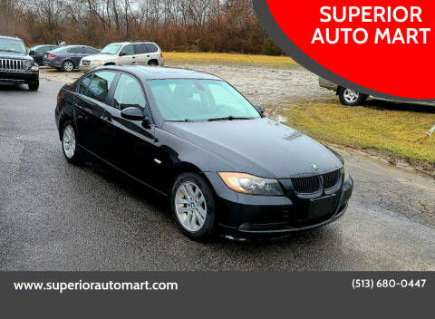 2007 BMW 3 Series for sale at SUPERIOR AUTO MART in Amelia OH