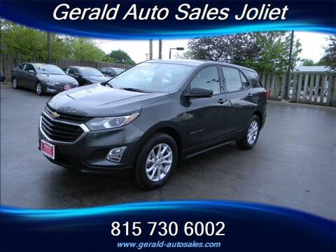 2018 Chevrolet Equinox for sale at Gerald Auto Sales in Joliet IL