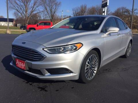 2018 Ford Fusion for sale at Jones Chevrolet Buick Cadillac in Richland Center WI