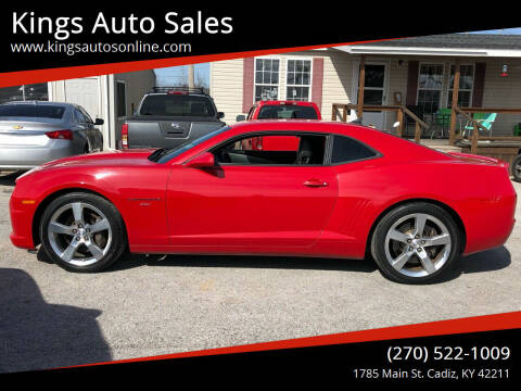 2010 Chevrolet Camaro for sale at Kings Auto Sales in Cadiz KY