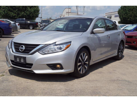 2017 Nissan Altima for sale at Credit Connection Sales in Fort Worth TX