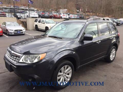 2012 Subaru Forester for sale at J & M Automotive in Naugatuck CT