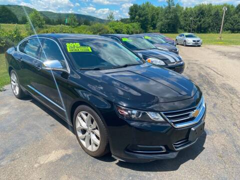2015 Chevrolet Impala for sale at Hillside Motors in Campbell NY