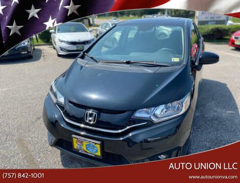 2016 Honda Fit for sale at Auto Union LLC in Virginia Beach VA