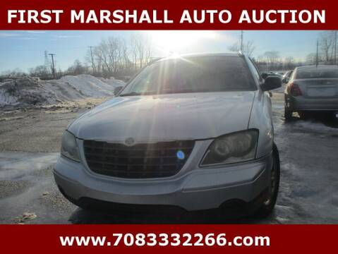 2005 Chrysler Pacifica for sale at First Marshall Auto Auction in Harvey IL