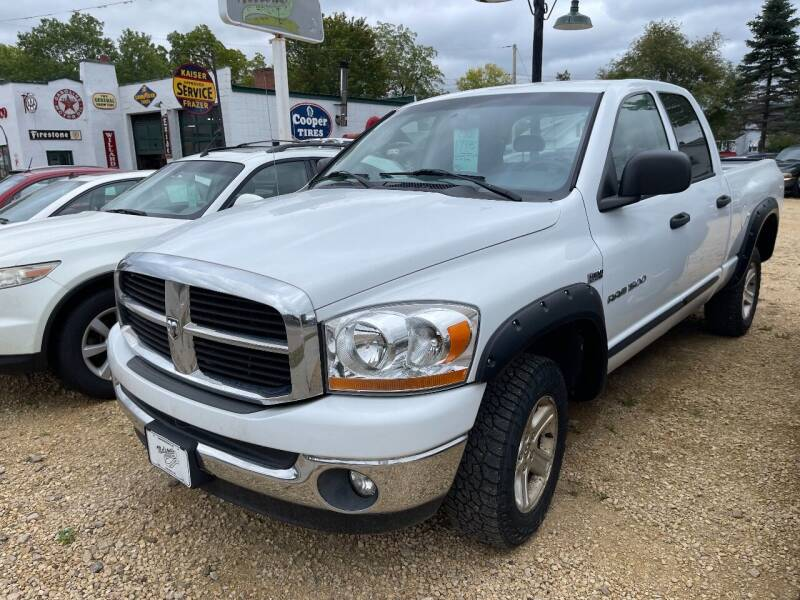 2006 Dodge Ram Pickup 1500 for sale at Nelson's Straightline Auto - 23923 Burrows Rd in Independence WI