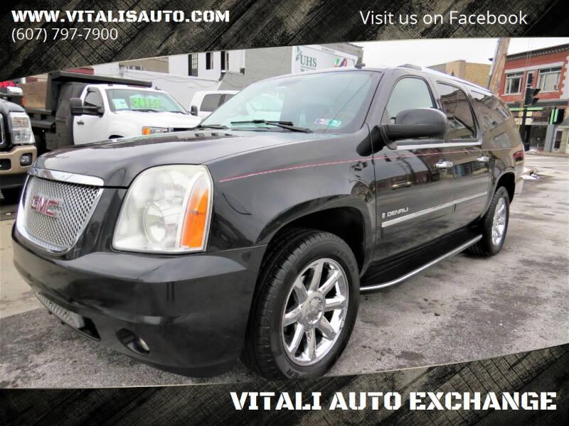 2009 GMC Yukon XL for sale at VITALI AUTO EXCHANGE in Johnson City NY