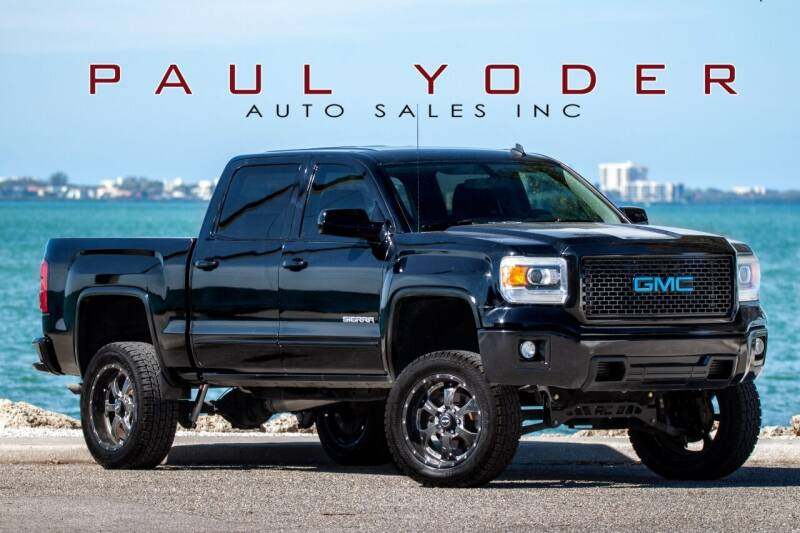 2014 GMC Sierra 1500 for sale at PAUL YODER AUTO SALES INC in Sarasota FL