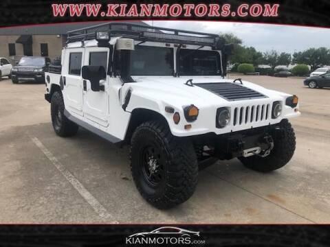 1999 AM General Hummer for sale at KIAN MOTORS INC in Plano TX