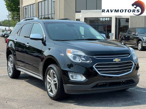 2017 Chevrolet Equinox for sale at RAVMOTORS 2 in Crystal MN