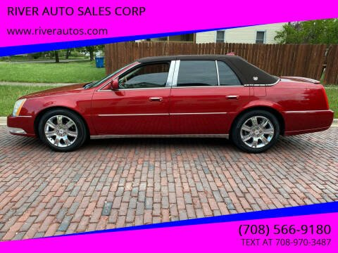 2010 Cadillac DTS for sale at RIVER AUTO SALES CORP in Maywood IL
