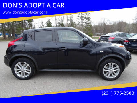 2011 Nissan JUKE for sale at DON'S ADOPT A CAR in Cadillac MI
