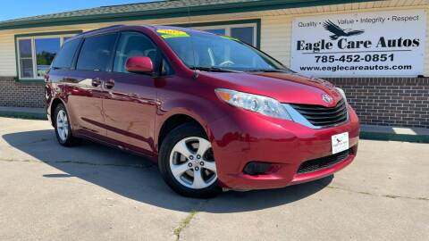 2012 Toyota Sienna for sale at Eagle Care Autos in Mcpherson KS