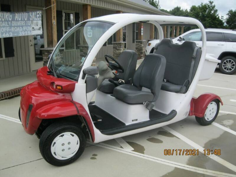 2002 GLOBAL ELECTRIC MOTO 825 for sale at WALLBURG AUTO SALES LLC in Winston Salem NC