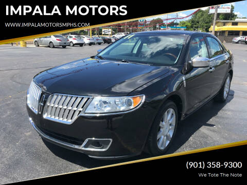 2011 Lincoln MKZ for sale at IMPALA MOTORS in Memphis TN