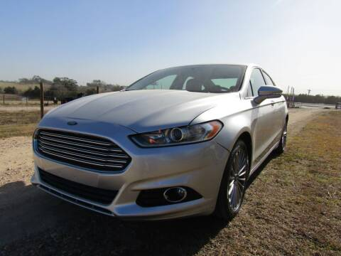 2014 Ford Fusion for sale at Hill Top Sales in Brenham TX