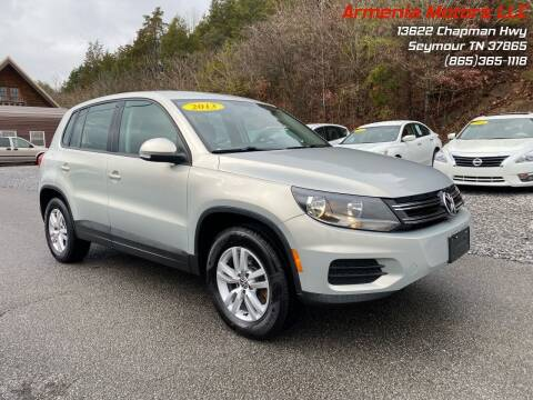 2013 Volkswagen Tiguan for sale at Armenia Motors in Seymour TN