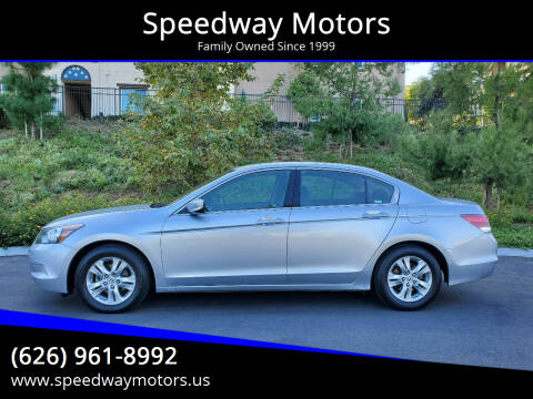 2008 Honda Accord for sale at Speedway Motors in Glendora CA
