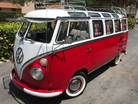 1965 Volkswagen Vanagon for sale at DS Motors in Boca Raton FL