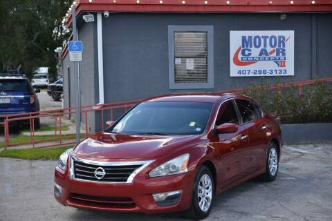 2015 Nissan Altima for sale at Motor Car Concepts II - Kirkman Location in Orlando FL