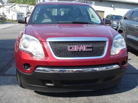 2011 GMC Acadia for sale at Pete's Bridge Street Motors in New Cumberland PA