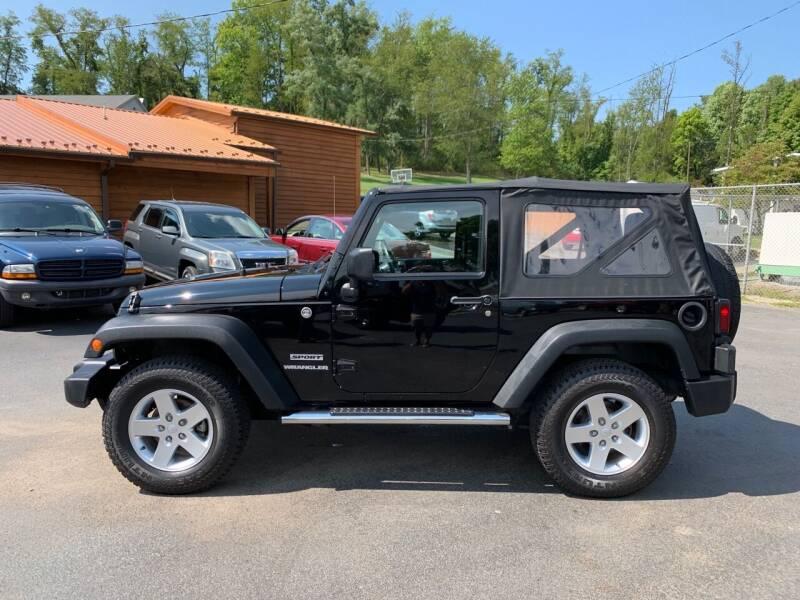2012 Jeep Wrangler 4x4 Sport 2dr SUV - Uniontown PA