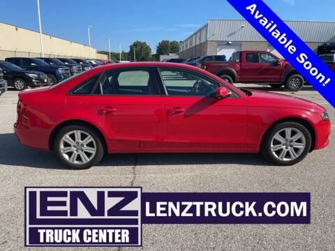 2011 Audi A4 for sale at LENZ TRUCK CENTER in Fond Du Lac WI