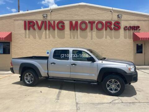 2014 Toyota Tacoma for sale at Irving Motors Corp in San Antonio TX