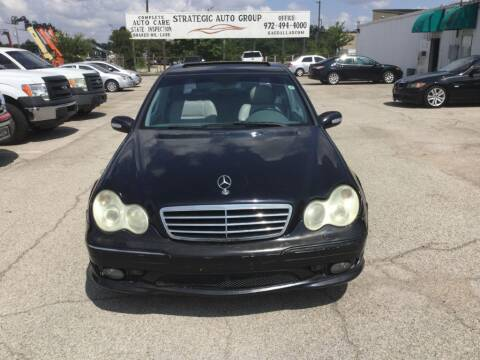 2005 Mercedes-Benz C-Class for sale at Strategic Auto Group in Garland TX