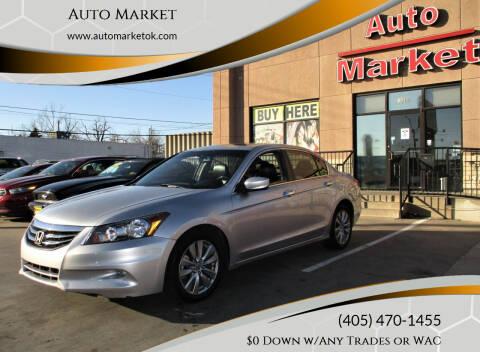 2011 Honda Accord for sale at Auto Market in Oklahoma City OK