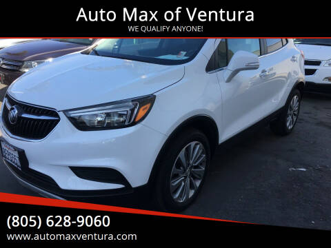 2018 Buick Encore for sale at Auto Max of Ventura in Ventura CA