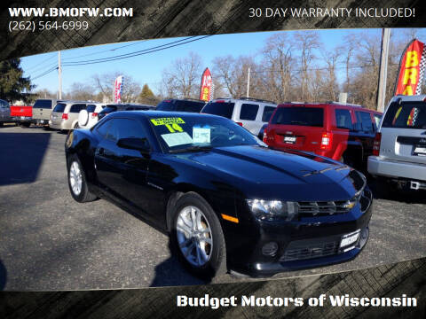 2014 Chevrolet Camaro for sale at Budget Motors of Wisconsin in Racine WI
