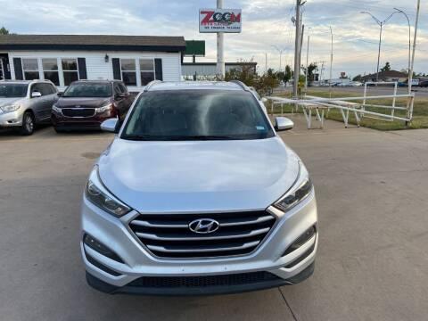 2017 Hyundai Tucson for sale at Zoom Auto Sales in Oklahoma City OK