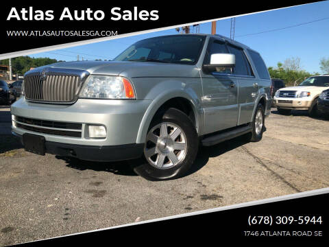 2005 Lincoln Navigator for sale at Atlas Auto Sales in Smyrna GA