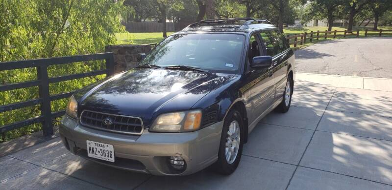 2004 Subaru Outback for sale at TEXAS MOTOR WORKS in Arlington TX
