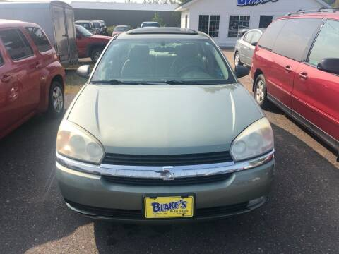 2005 Chevrolet Malibu for sale at Blakes Auto Sales in Rice Lake WI