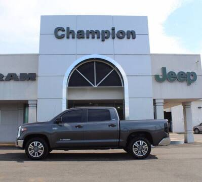 2018 Toyota Tundra for sale at Champion Chevrolet in Athens AL