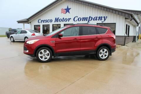 2016 Ford Escape for sale at Cresco Motor Company in Cresco IA