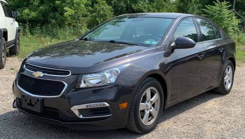 2015 Chevrolet Cruze for sale at Cars 2 Love in Delran NJ