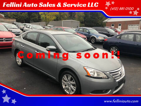 2013 Nissan Sentra for sale at Fellini Auto Sales & Service LLC in Pittsburgh PA