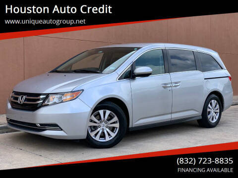 2015 Honda Odyssey for sale at Houston Auto Credit in Houston TX